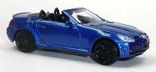 2005 Mercedes SLK55 AMG Cabriolet Sammlermodell ca.1:43 / 10-11-cm blau MotorMax