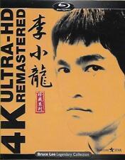 Bruce Lee 4k Ultra HD Remasterd Blu Ray 4-disc BOXSET Eng Sub Martial Arts