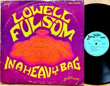BLUES FUNK ROCK LP: LOWELL FULSOM (Fulson) IN A HEAVY BAG Muscle Shoals session