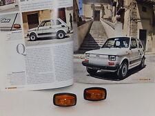 FIAT 126 SILVER DEL79 - FANALI LATERALI DX E SX ORIGINALI OLSA