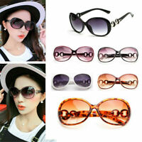 New Fashion Retro Polarized Sunglasses Oversized Vintage Mirror Eyewear UV400