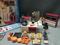 Playmobil 5582  Designerküche City Life  kombinierbar mit 5574 sehr RAR OVP & BP