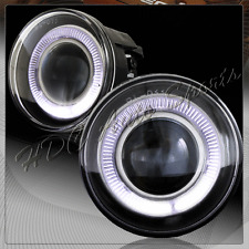 For 2001-2004 Dodge Dakota White Halo Projector Fog Driving Lights Lamp+Switch