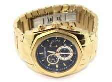 Mens Micheal Hill Gold Chronograph Watch