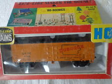 Vintage Life-Like Ho Scale Woodsided Reefer Car Dubuque Packing Company