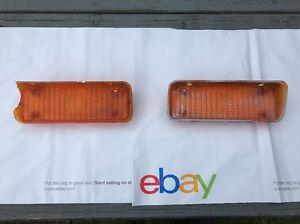 71 72 Chevy Chevrolet C10 C20 Suburban Blazer Marker Light Lens LH / RH Oem GM