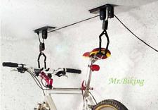 Soporte Elevador Poleas de Techo para Bicicleta, Fácil Montaje sostenedor.