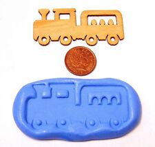 Reusable Train Silicone Mould Sugarcraft Jewellery Card Topper Food Safe