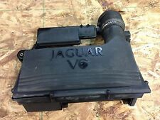 2002 jaguar x-type air box cleaner assembly w/ mass air flow 2.5L 2002-2008