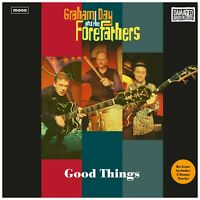 GRAHAM DAY & THE FOREFATHERS Good Things white vinyl LP Prisoners Solarflares