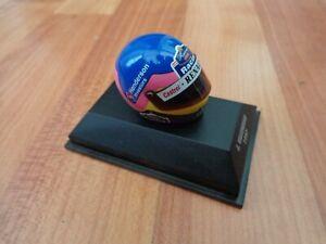 MINICHAMPS 1/8 CLASSIC JACQUES VILLENEUVE 1997 WILLIAMS F1 FORMULA 1 HELMET USED