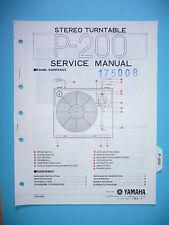 Service Manual-Anleitung für Yamaha P-200,ORIGINAL