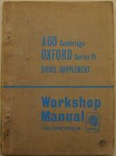 Austin A60 Cambridge & Morris Oxford VI original 1.5 L Diesel Supplement 1964