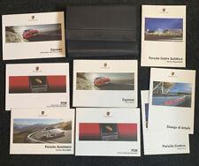Porsche Cayenne owners  Drivers Handbook/Manual (2012-14) 8 Books