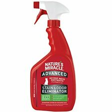Nature's Miracle Advanced Stain and Odor Eliminator Cat, For 32 Oz Spray