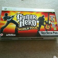 Xbox 360 Guitar Hero World Tour Wireless Guitar Controller with Box