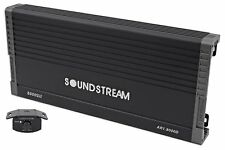 SOUNDSTREAM AR1.8000D 8000 WATT MONOBLOCK AMPLIFIER CLASS D 1-CHANNEL MONO AMP