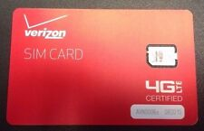 Brand New Oem Verizon SIM Card NFC Nano 4g LTE 4ff for Samsug Galaxy S6, S7, S8