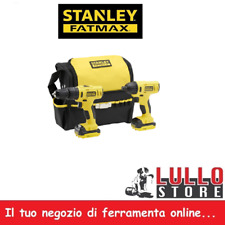 Avvitatore + Avvitatore Kit Trapano a Impulsi Litio 10.8V 1.5Ah STANLEY FATMAX