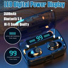 Auricular Bluetooth 5.0 TWS Audífonos Inalámbricos Auriculares Estéreo Auriculares LED Mini