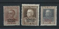1928 FRANCOBOLLI SOMALIA SERIE LINGUELLATA MLH D/3711