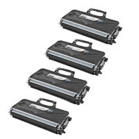 4PK BLACK HY Toner Cartridge for Brother TN360 TN-360 DCP-7040 DCP-7030 DCP-7045