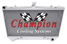 2 Row Performance Champion Radiator for 2010 2011 Chevrolet Camaro V8 Engine