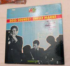 LP, Shelly Manne & His Men, Boss Sounds! Atlantic 1469, MONO, VG++