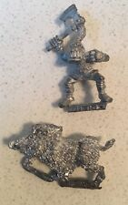 MARAUDER ORC ON BOAR RARE 1990 WARHAMMER FANTASY BATTLE (B)