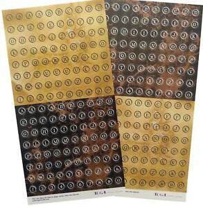 Sticker Paper Alphabet Letters Scrapbooking Art Crafts Card Making Stickers