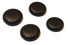 4x Replacement Black Silicone XBOX 360 Controller Thumbstick Covers UK Seller