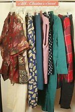 Vintage Bundle Box Womens Clothes Mixed 10 Pcs Reseller Wholesale Designer $