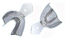 2 x Abdrucklöffel perforiert Größe XL-1 / Rim-Lock   Impression Trays