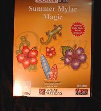 "GREAT NOTIONS EMBROIDERY USB (MULTI FORMAT) ""SUMMER MYLAR MAGIC"""