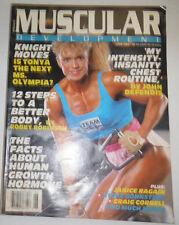 Muscular Development Magazine Knight Moves Tonya Janice Ragain June 1989 110414R