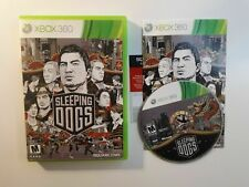 SLEEPING DOGS Xbox 360 PERFECT Disc Complete CIB VERY Fast Shipping Worldwide!!!