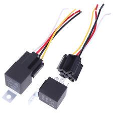 1 Pair 12V 24V 40A Auto Automotive Relay Socket 40 Amp Relay & Wi Tu