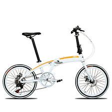 "20"" ultra light aluminum alloy shimano 7 speeds folding bike disc brakes(12kg)"