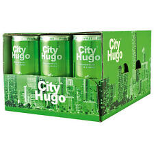 60 Dosen Hugo City City Secco Hugo Holunderblüte Limette 10.5% Vol. 60 x 200ml