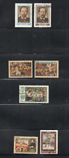 Russia 1955/6 3 Complete sets. Hinged CTO. One postage for multiple buys.