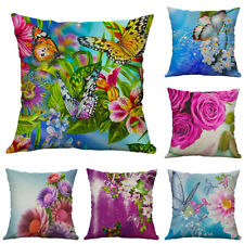 Printing Flower Butterfly Animal pillow case Cushion Cover Sofa Home Decor