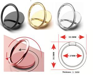 Phone Ring Finger Holder Metal Mount Phone Stand Grip Universal Ring Holder