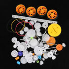 78pcs Gearbox toy robot motor plastic gear DIY model accessories C❤