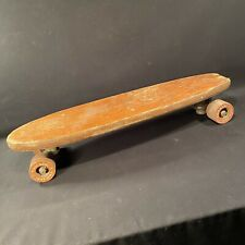 Vintage Skateboard Wood Chicago No 76P Wheels Priority Mail