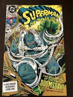DC Comics Superman The Man of Steel # 18 NM First Full Appearance Doomsday
