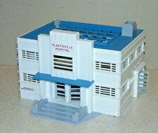 Vintage Plasticville HS-6 Hospital Kit Partially Glued. w/o original box.