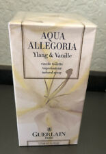 NIB Aqua Allegoria Ylang & Vanille by Guerlain Eau De Toilette Spray 4.2 oz