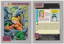 Vintage 1991 Dc Comics Aquaman # 33-Earth'S Mightiest Heroes-Mint-Set Break