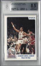 1984 Star Basketball All-Star Game #14, Kareem Abdul-Jabbar HOF BGS 8.5 NM-MT+