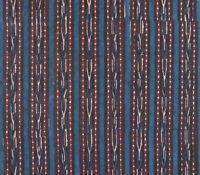 Nomadic Tribal India Fabric. 2½ Yards Hand Block Print Cotton Banjara Rabari